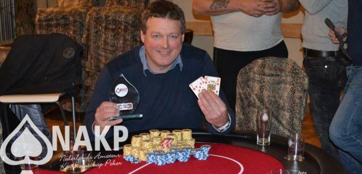 Nic de Reus uit Zevenaar Nederlands Amateur Poker Kampioen