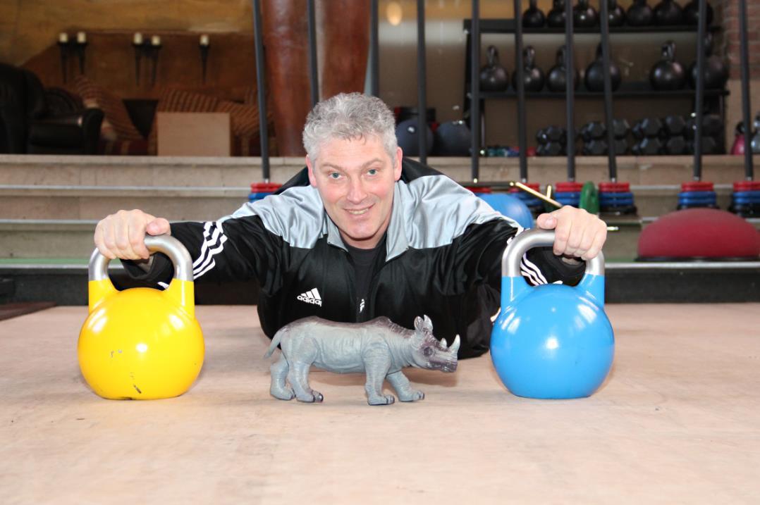 Funktional Fitness in Zevenaar zet zich in voor 'Save the Rhino'