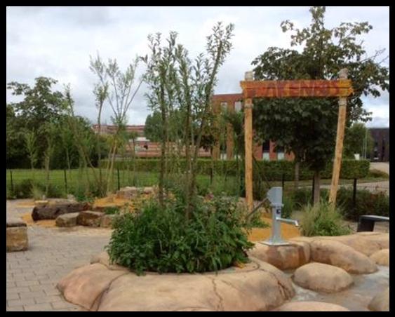 Feestelijke opening vernieuwde schoolplein SBO de Schilderspoort