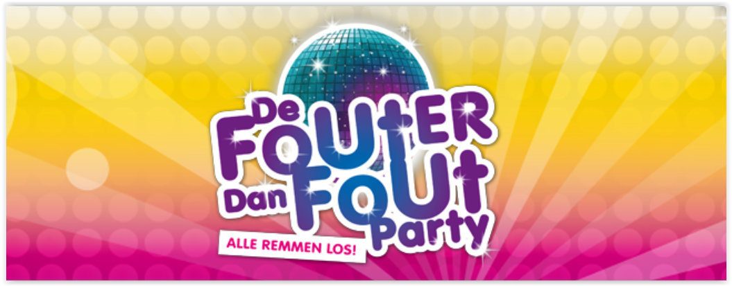 6e editie van de Fouter dan Fout party
