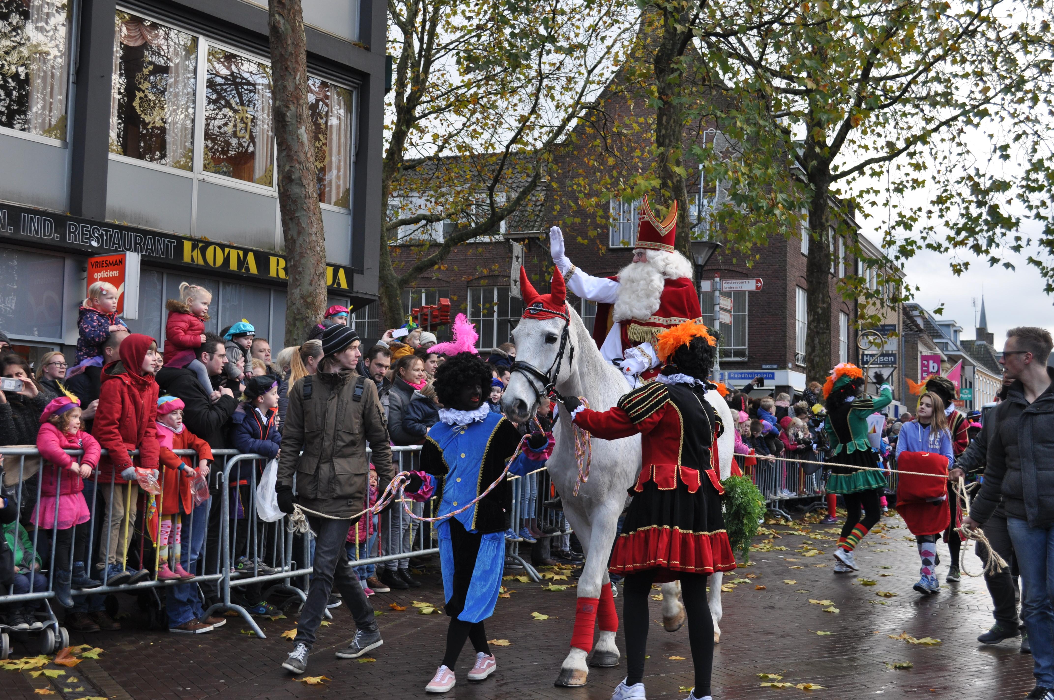 Sinterklaas in Zevenaar aangekomen