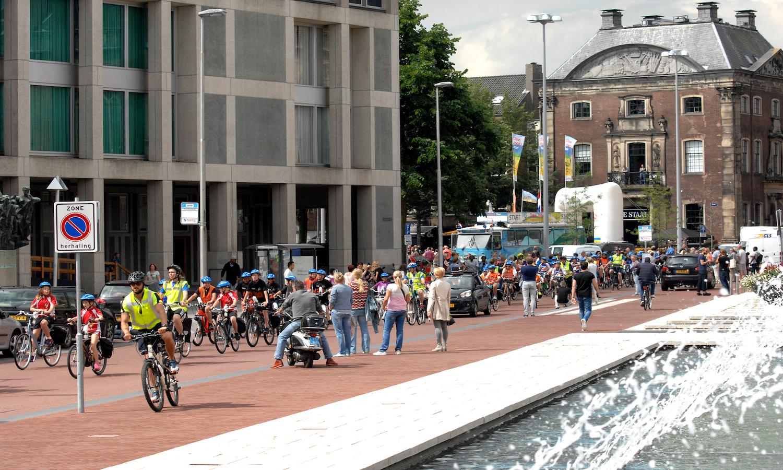 Ome Joop's Tour in 2018 naar Groningen
