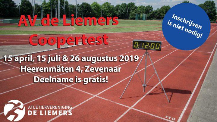 Meet gratis je conditie met de coopertesten van AV de Liemers
