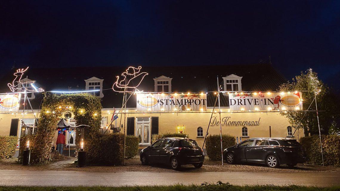 De eerste stamppot drive-in van Nederland opent zijn deuren in Lathum