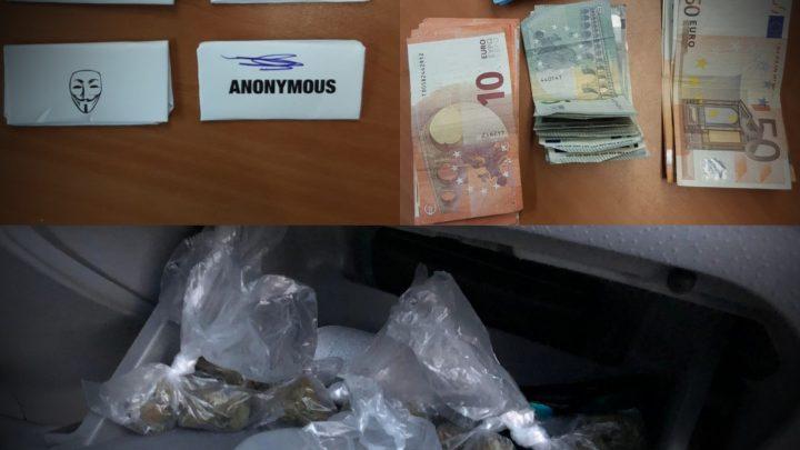 Drugsdealer en koper op heterdaad aangehouden